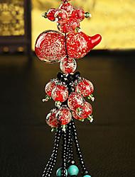 DIY Automotive Pendants Peace Car Decoration Creative Night Gourd Crystal Car Interior Jewelry Car Pendant & Ornaments Crystal