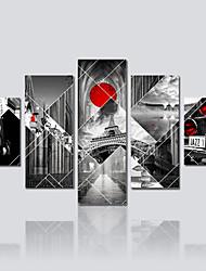 Stampa trasferimenti su tela Cinque Pannelli Tela Stampa Decorazioni da parete For Decorazioni per la casa