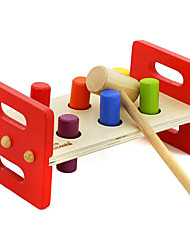 cheap -Hammering / Pounding Toy Toys Baby & Toddler Toy Educational Toy Toys Rectangular Wooden Kids Boys Girls Pieces