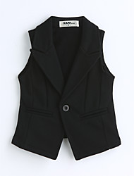 Boys' Solid Vest,Cotton Spring Fall Sleeveless