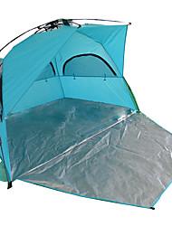 baratos -2 Pessoas Tenda Único Barraca de acampamento Ao ar livre Tenda Dobrada Prova-de-Água / A Prova de Vento / antidesgaste para Acampar e