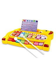 cheap -Xylophone Baby Music Toy Toy Musical Instrument Toys Fun Novelty Musical Instruments Plastics Pieces Children's Gift