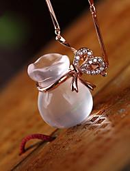 cheap -DIY Automotive Pendants Chinese Style Purse Blessing Bag Car Pendant & Ornaments    Jade Crystal