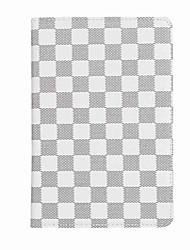 Недорогие -Для чехлов держатель карты держатель полный корпус корпус решетка шаблон твердый кожа pu для ipad mini 4 mini 3/2/1