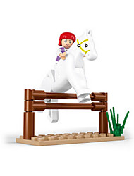 cheap -Building Blocks / Block Minifigures / Pretend Play Castle / House / Horse Animals Girls' Gift
