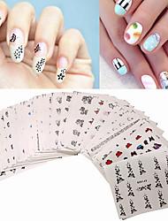 economico -50 Adesivi per manicure Other Cosmetici e trucchi Fantasie design per manicure