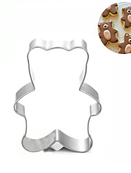 Little Bear Cookies Cutter Stainless Steel Biscuit Cake Mold  Fondant Baking Tools
