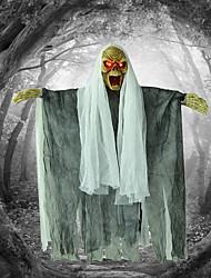 Halloween, accessoires, barre, hanté, maison, lueur, accroché, fantôme, horreur, démon, appelé, squelette, suspendu, décoratif, halloween,