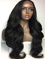 Top Quality Brazilian Human Hair Wigs Medium Brown Lace Cap Glueless Full Lace Wigs For Dark Skin Women