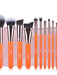 cheap -11 Makeup Brush Set Synthetic Hair Easy Carrying Easy to Carry Aluminum Wood Men Men and Women Eye Daily Eyes Lips Eyelash Lip