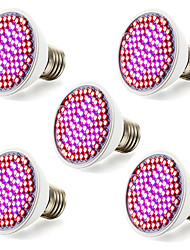 5Pcs Promotion 12W 85-265V Led Grow Light 100% Quality Veg&Flower Hydroponic Lighting Plant Lamp