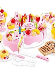 Недорогие -Игрушечная еда Ролевые игры Фрукт Торты Десерт моделирование Пластик Детские Игрушки Подарок