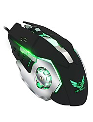 cheap -X500DU Wired Gaming Mouse DPI Adjustable Backlit Multifunction 800/1600/2400/3200