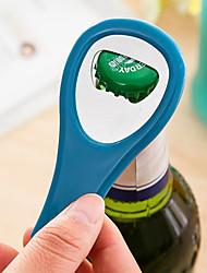 Tennis Racket Shape Metal Personalized Beer Bottle Opener Keychain Keyring Key Chain Ring(Random Color)