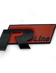 Emblème automobile pour audi rline audi a4 la6l matière plastique abs