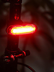 cheap -Bar End Light / Rear Bike Light / Safety Light LED Bike Light - Cycling Waterproof, Rechargeable, Small Size Lithium Battery 50 lm Battery Camping / Hiking / Caving / Everyday Use / Cycling / Bike -