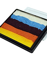 cheap -OPHIR Regular Color Rainbow Body Paint Halloween Face Paint Makeup Pigment 50g/set Multicolor Series Temporary Tattoo Body
