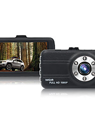 3.0 Inch Mini Car DVR Registrar Dash Cam Full HD 1080P 120 Degree DVRS Night Vision G-Sensor Auto Video Driving Recorder