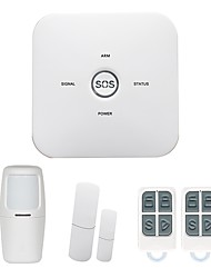 cheap -GSM Home Alarm Panel SMS / App Operation 433MHz Home Alarm System
