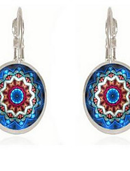 Women's Earrings Set Jewelry Basic Vintage Bohemian Glass Round Jewelry For Other New Year Date Going out