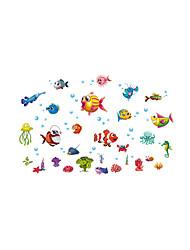 economico -Paesaggi Animali Moda Adesivi murali Adesivi aereo da parete Adesivi decorativi da parete, Plastica Decorazioni per la casa Sticker murale