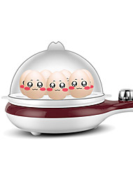 Egg Cooker Double Eggboilers Santé Multifonction Conception verticale Bruit faible Indicateur d'alimentation Détachable 220V