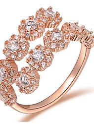 cheap -Women's Ring Settings Band Rings Ring Imitation Pearl RhinestoneBasic Unique Design Geometric Friendship Fashion Punk Adorable