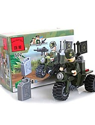 cheap -Building Blocks Toys Motorcycle ABS Unisex Pieces
