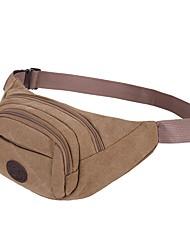 Women Bags Summer Nylon Waist Bag for Outdoor Black Light Green Coffee Khaki