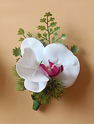 Wedding Flowers Grace Boutonnieres Wedding / Special Occasion Polyester / Fabric Corsage for The Bridegroom 1 Piece