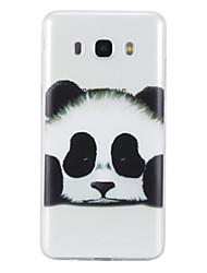 economico -Custodia Per Samsung Galaxy J5 (2016) J3 (2016) Transparente Fantasia/disegno Custodia posteriore Panda Morbido TPU per J5 (2016) J5 J3