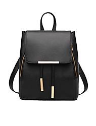 Недорогие -Жен. Мешки PU рюкзак для Официальные / Для профессионального использования / на открытом воздухе Лиловый / Пурпурный / Светло-синий