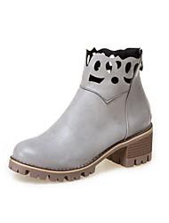 Недорогие -Для женщин Ботинки Для прогулокУдобная обувь Оригинальная обувь Гладиаторы В ковбойском стиле Зимние сапоги Верховые ботинки Модная обувь