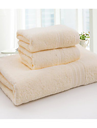 cheap -Fresh Style Bath Towel Set,Solid Superior Quality 100% Cotton Towel