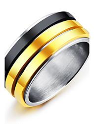 cheap -Men's Band Ring - Vintage, Fashion, Elegant 7 / 8 / 9 Gold For Wedding / Engagement / Ceremony