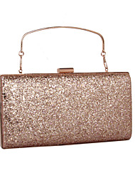 cheap -Women's Bags Faux Leather Clutch Sequin / MiniSpot Gold / Silver