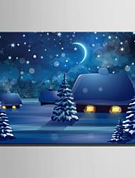 economico -Stampe e quadri con LED Un Pannello Tela Orizzontale Stampa Decorazioni da parete For Decorazioni per la casa