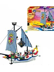 cheap -ENLIGHTEN Building Blocks Ship Pirate Ship Pirate Pirates Toy Gift