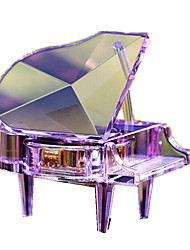 Music Box Toys Piano Toughened Glass 1 Pieces Not Specified Birthday Gift