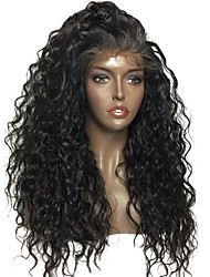 150% High Density Curly Brazilian Human Hair Lace Front Wig Curly 13x6 Deep Parting Lace Front Human Hair Wig For Black Women