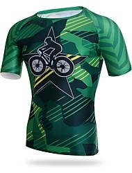 XINTOWN Fahrradtrikot Herrn Kurzarm Fahhrad T-shirt Trikot/Radtrikot Rasche Trocknung Atmungsaktivität UV-beständig Dehnbar Weichheit