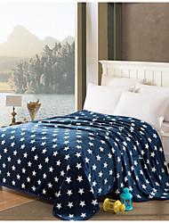 Недорогие -Супер мягкий Геометрические линии Полиэфир одеяла