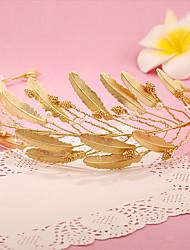 imitación perla aleación tiaras diademas casco estilo elegante