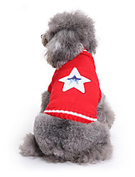 Perro Suéteres Ropa para Perro Casual/Diario Estrellas Disfraz Para mascotas