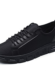 Men's Athletic Shoes Comfort Summer Fall Tulle Running Shoes Athletic Casual Outdoor Office & Career Work & Safety Ruby Black White 1in-1
