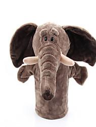 Недорогие -Пальцевые куклы Слон Утка Лошадь Лев Овечья шерсть Зебра Обезьяна Животные Милый Хлопковая ткань Взрослые Подарок