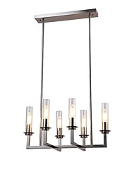 cheap -Nature Inspired Chic & Modern Modern/Contemporary Mini Style Chandelier Uplight For Living Room Dining Room Study Room/Office 220-240V