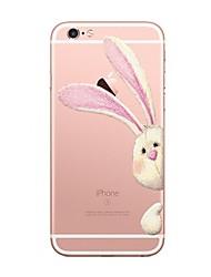 Für iPhone X iPhone 8 Hüllen Cover Transparent Muster Rückseitenabdeckung Hülle Tier Cartoon Design Weich TPU für Apple iPhone X iPhone 8