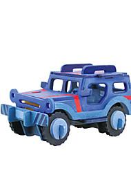 Недорогие -3D пазлы Игрушки Автомобиль Транспорт Ручная Pабота 1 Куски