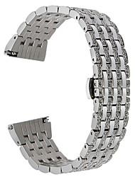 Недорогие -Ремешок для часов для Huawei Watch 2 Huawei Дизайн украшения Нержавеющая сталь Повязка на запястье